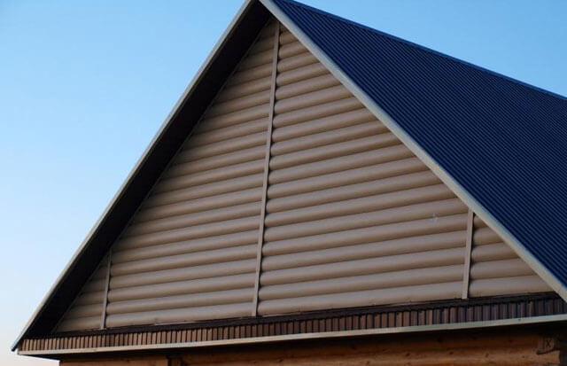 как рассчитать фронтон двухскатной крыши
