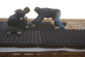 андулиновая крыша