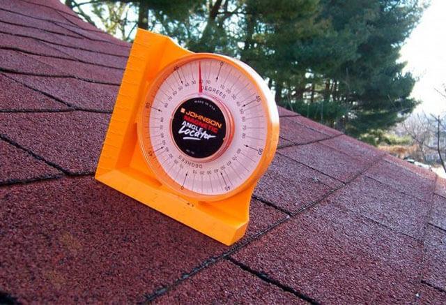 минимальный уклон крыши