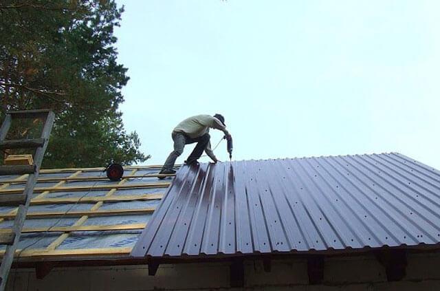 материалы для мягкой кровли крыши гаража