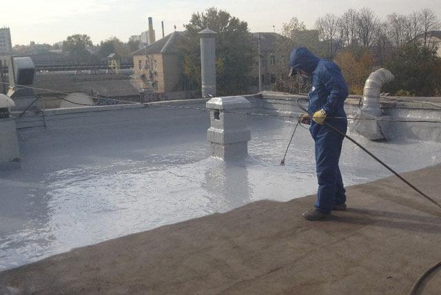 ремонт гидроизоляции крыши
