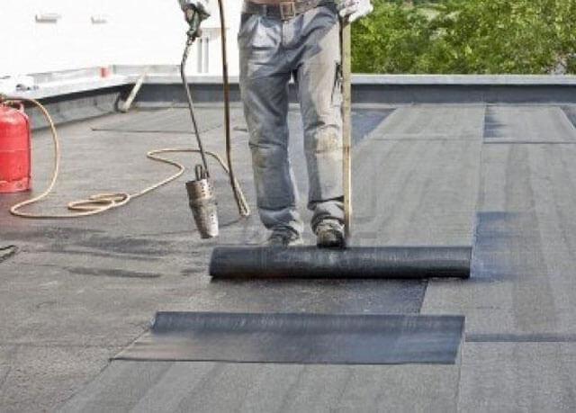 как положить рубероид на крышу