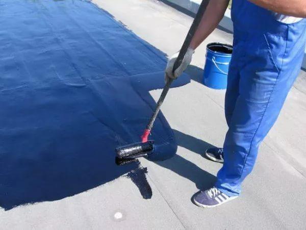 Битумно-полимерное покрытие обладает более высокой скоростью застывания