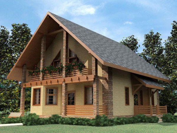 Чтобы своими руками возвести двускатную крышу, нужно знать особенности ее конструкции