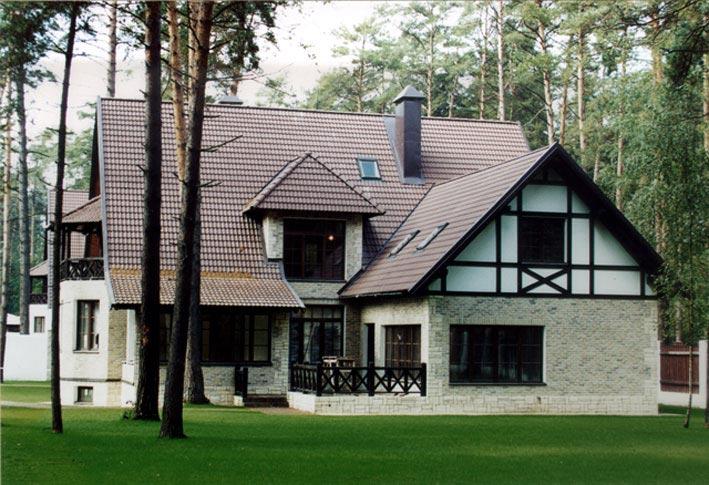 цвет крыши дома