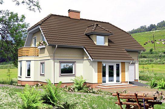 Дачный домик с мансардой — это прекрасное решение.