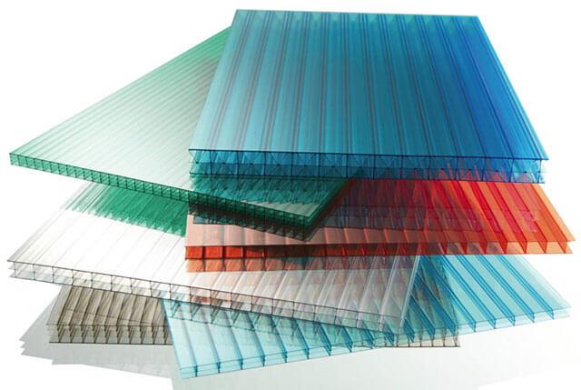 размер листа поликарбоната для навеса