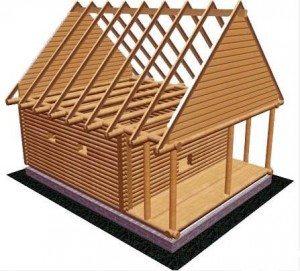 деревянные стропильные конструкции