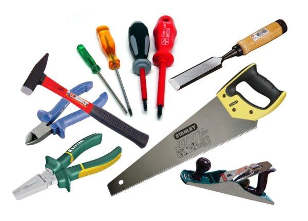 Для работы достаточно иметь нехитрый набор инструмента.