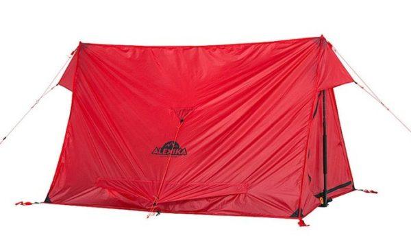 Двухместная палатка. Вес - 1,2 кг.