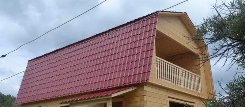 Дои с ломанной мансардной крышей