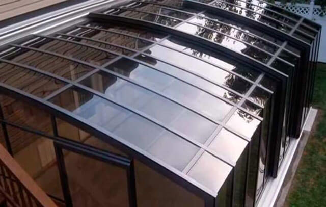 поликарбонат для крыши террасы какой выбрать