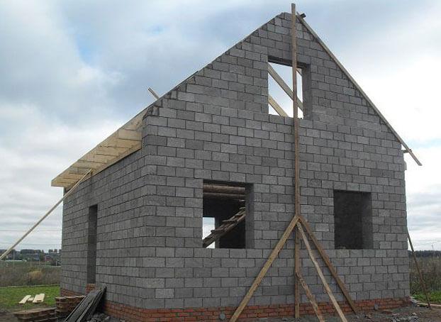 как посчитать фронтон крыши