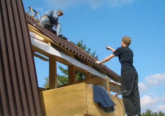 как правильно перекрыть крышу ондулином