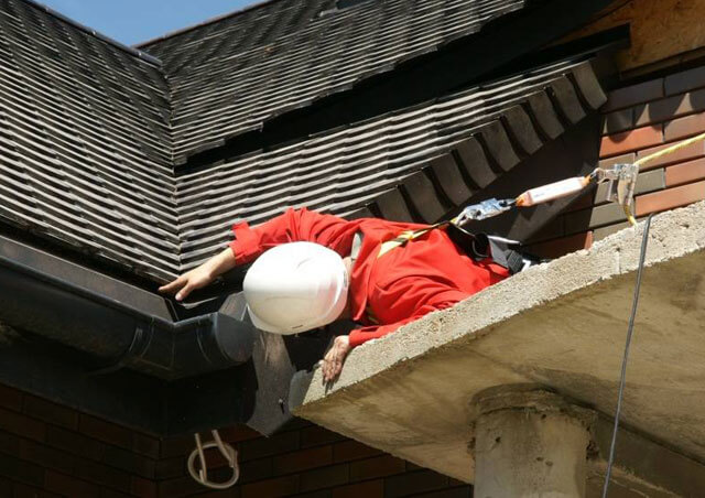 техника безопасности на крыше