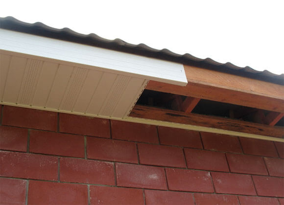 подшивка фронтонов крыши