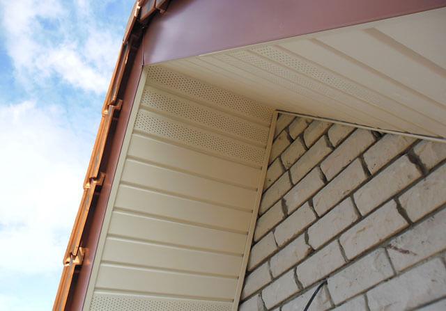 карниз крыши дома своими руками