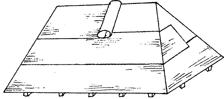 Гидроизоляция четырехскатной крыши