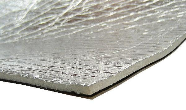 Изоспан FX представляет собой двухслойный материал — пенофол