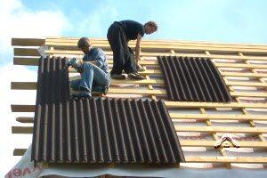 как делается крыша