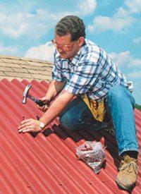 как накрыть крышу ондулином