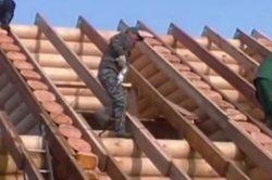 как построить двускатную крышу