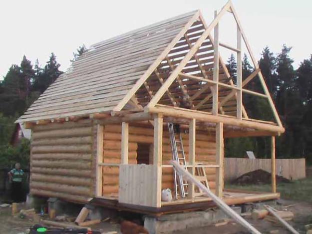 как построить крышу с мансардой