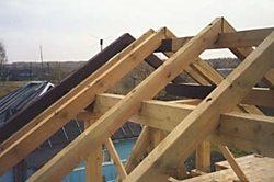 как сделать двускатную крышу