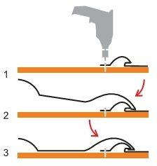 крепление металлочерепицы саморезами