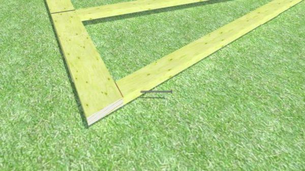 Крепление стропильной ноги к балке перекрытия