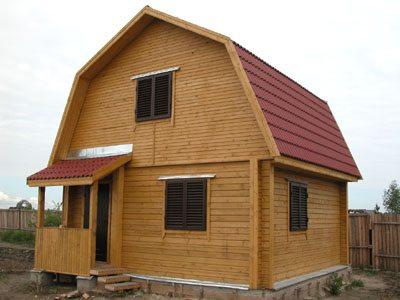 крыша ломаная