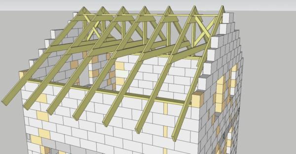 Крыша своими руками — чертежи в 3D можно получить с помощью строительного ПО.