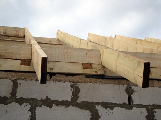 крыши стропильная система