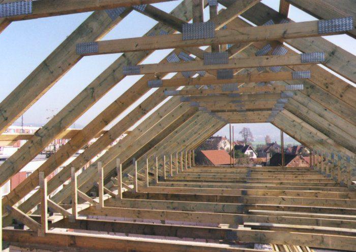 мансардная крыша конструкция