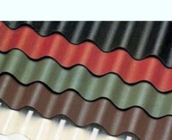 Ондулин выпускается в различных цветах.