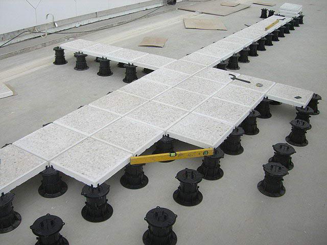 Формирование уклона панелями