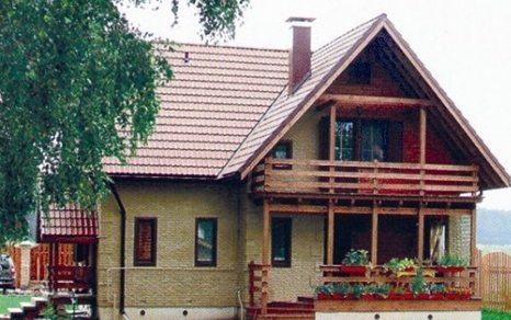 подбор цвета крыши и стен