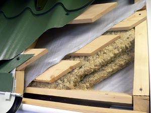 подложка под металлочерепицу