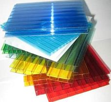 Сотовый полимерный пластик