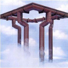 Современные материалы допускают любую систему водостока
