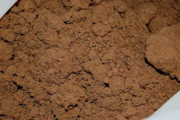 Так выглядит глина с минимальными примесями песка и органики