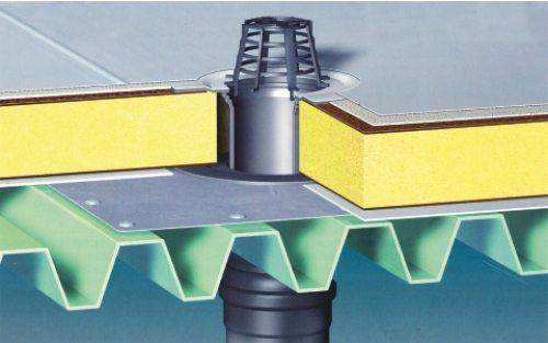 Внутренняя система водоотлива требует профессионального монтажа.